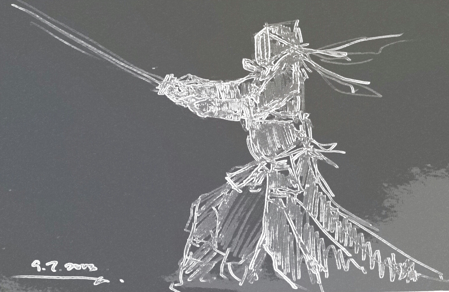 How to Master the Japanese Art of the Sword (with Pictures)